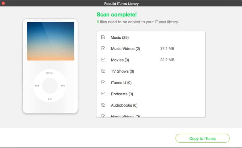 Fix iTunes Library with iMusic