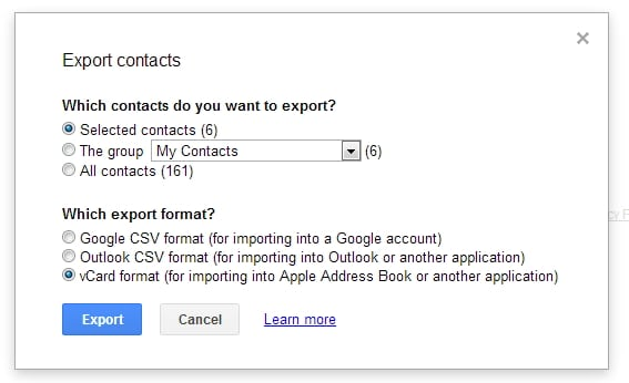 Sync Contacts from Gmail to Android