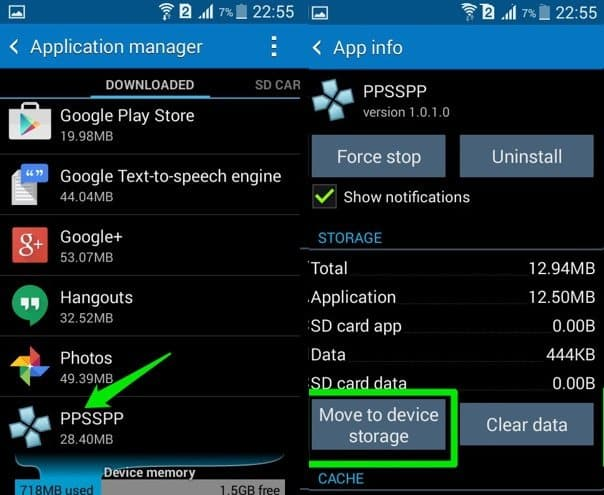 check sd card to Fix Process System Isn't Responding Issue on Your Android