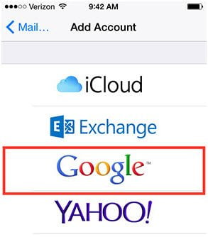 How to Sync Contacts from iPhone to Gmail directly
