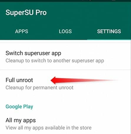 Fix Process System Isn't Responding Issue on Your Android by Unroot android phone
