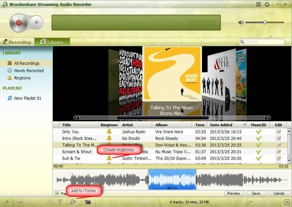 Record Mixcloud to MP3 with Streaming Audio Recorder
