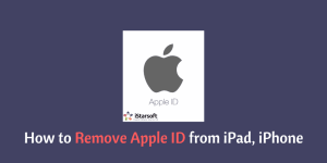 How to Remove Apple ID from iPad & iPhone