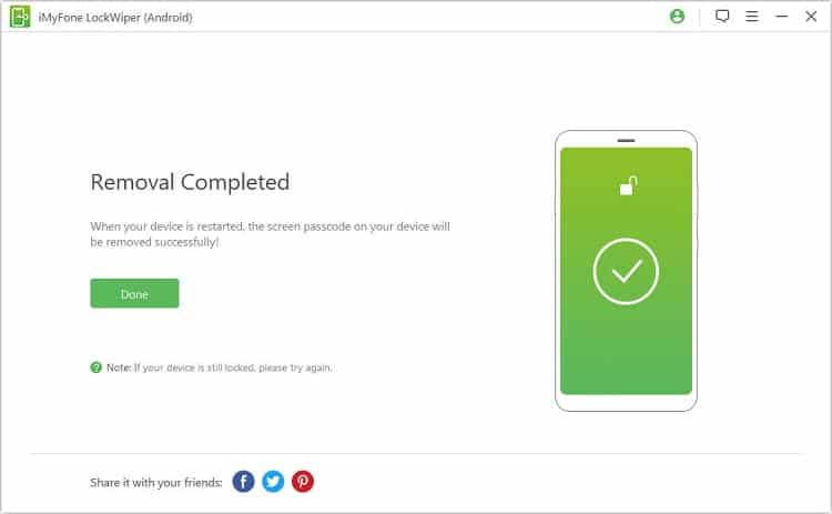 How to Factory Reset LG Phone with iMyFone LockWiper (Android)