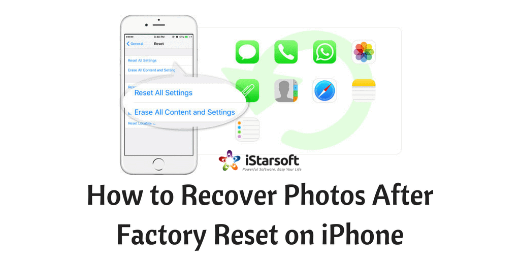 recover photos after factory reset on iphone