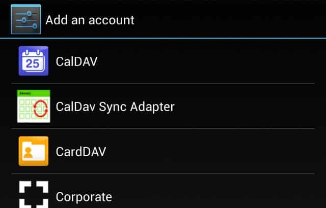 Access iCloud Calendar from Android