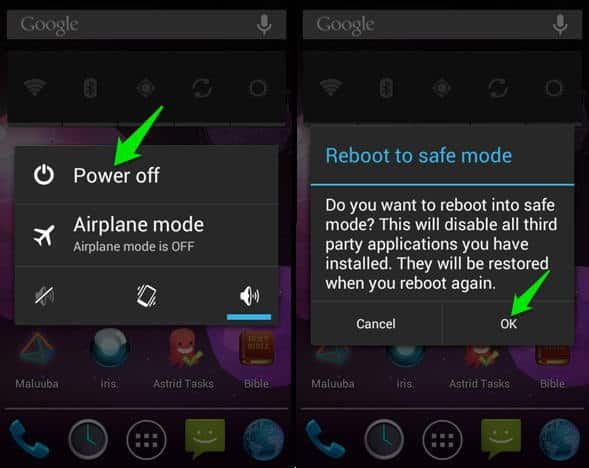 How to Open Pattern Lock with Safe Mode