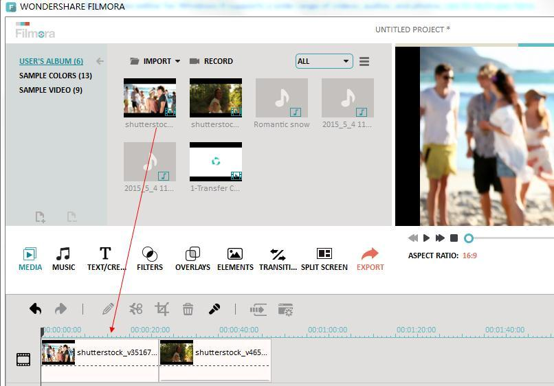Samsung Video Editor - Fimora