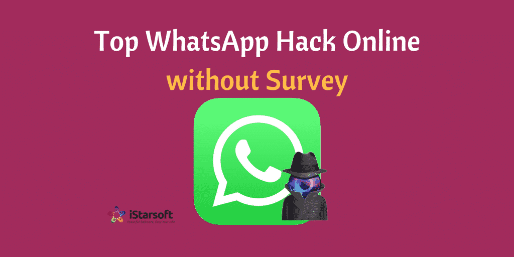 WhatsApp hack online without survey