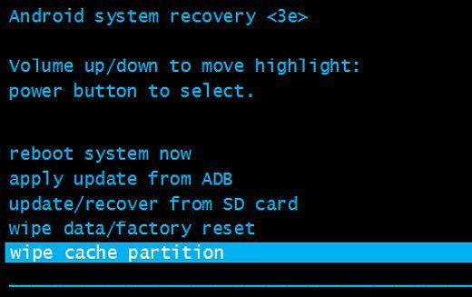 Wipe Cache Partition to Fix Apps Keep Crashing on Android