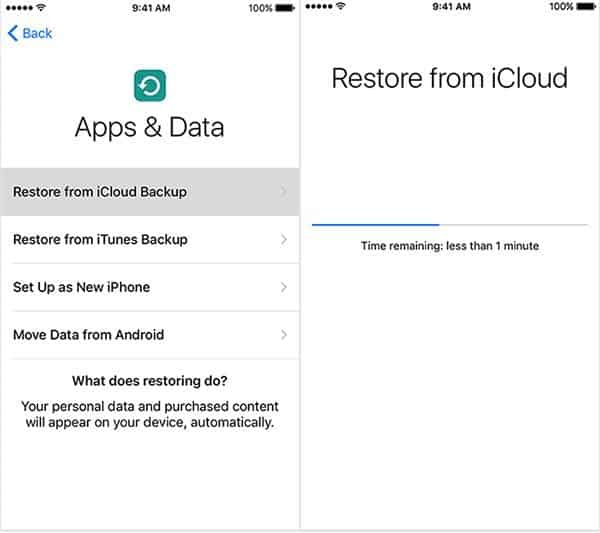 Recover Deleted Photos from iCloud on iPhone