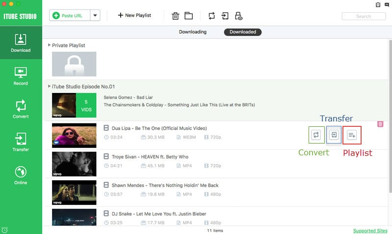 download twitter videos with iTube Studio