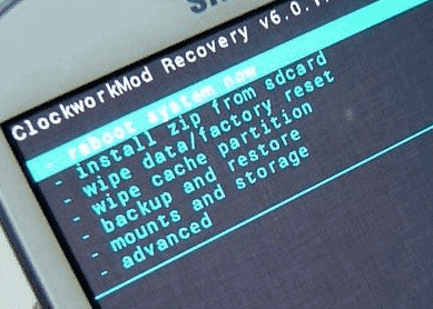Factory Reset to fix Recovery is Not Seandroid Enforcing