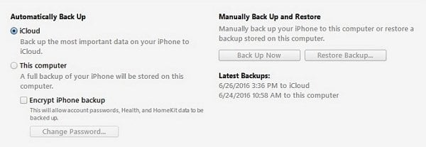 how to view private browsing history on iphone Using iTunes Backup