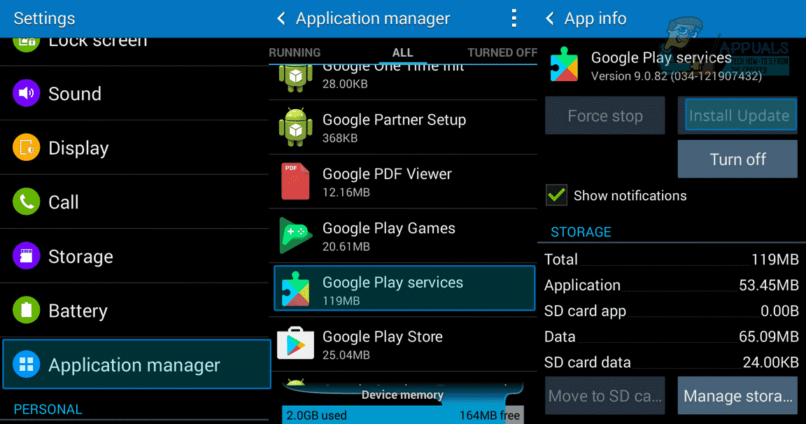 Fix Google Play Store Error 501 by Install Update