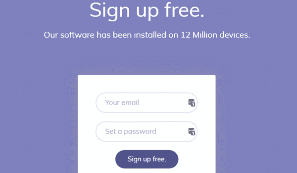 Sign up Hoverwatch