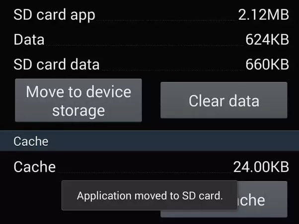 fix Error Code 963 by move app to sd card