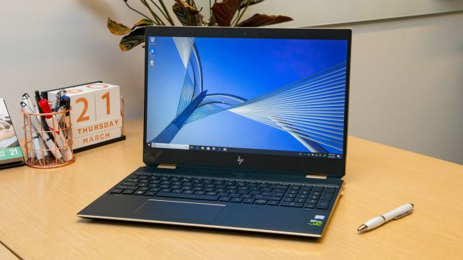 best laptops for engineering students. HP Spectre X360 15T (2019)