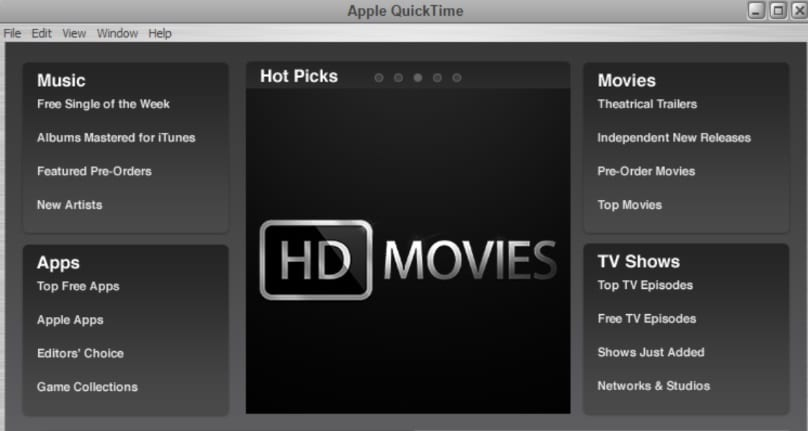 QuickTime  MOV Player