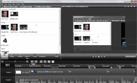 how to record a webinar with Camtasia