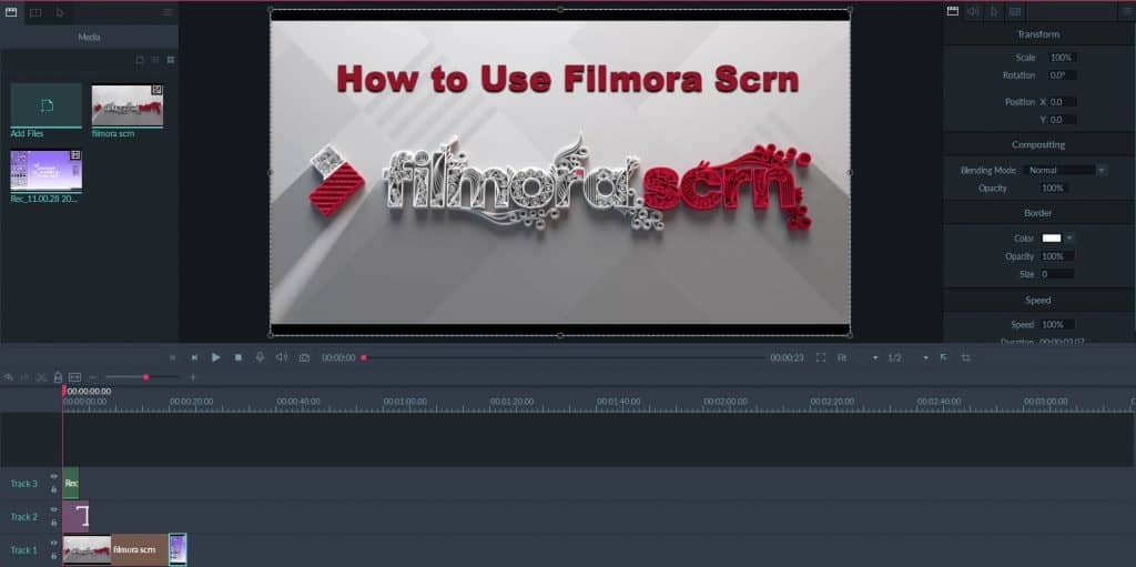 how to record a webinar with Filmora Scrn