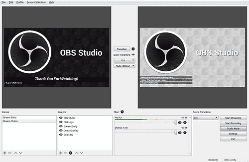 how to record a webinar with OBS