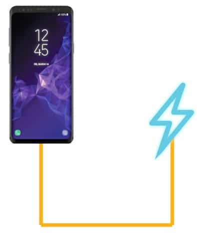 Galaxy S8 not charging