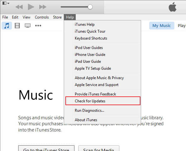 Upgrade iTunes to the Latest Version