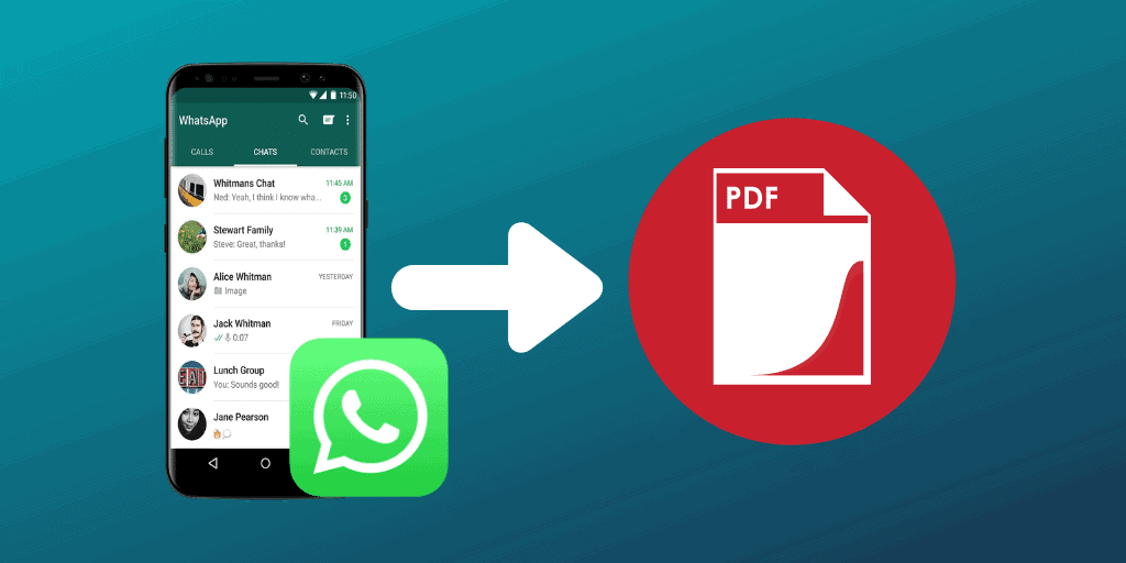 export WhatsApp Chat to PDF