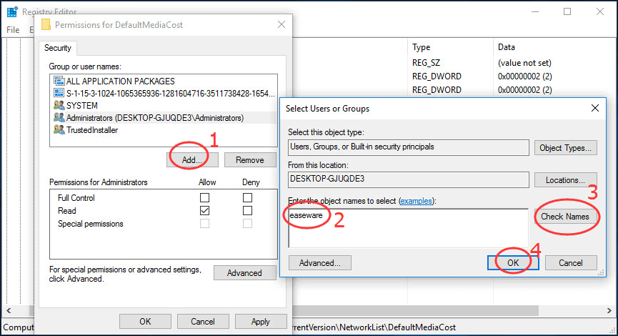 For those who are using an Ethernet connection