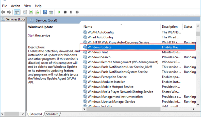 Stop the Windows update service and disable it