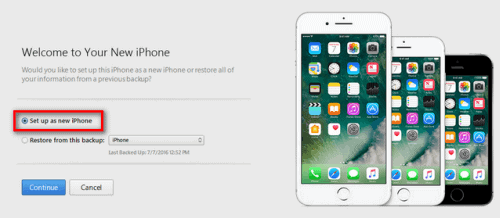 Activate iPhone without SIM using iTunes