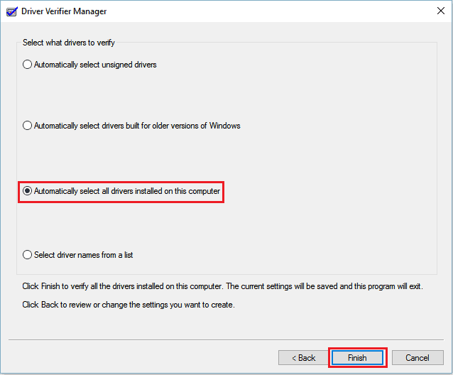 Check if it has some errors with drivers