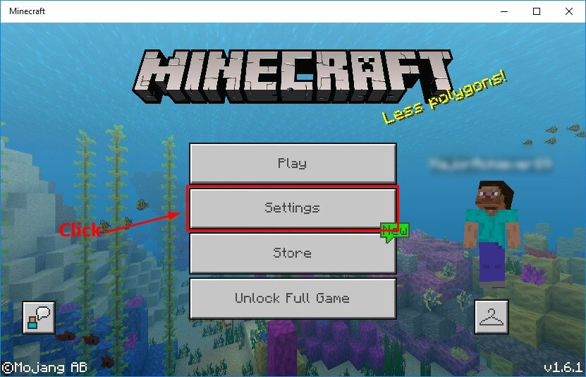 Check if Minecraft no sound has occurred because you have muted it