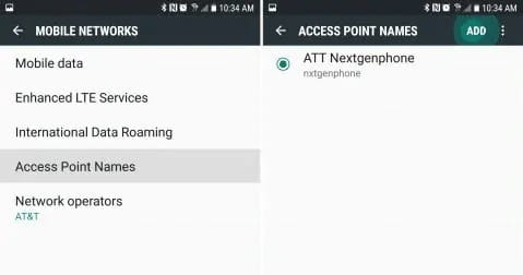 Fix sim card is not from verizon wireless by Configuring the APN for T-Mobile Service