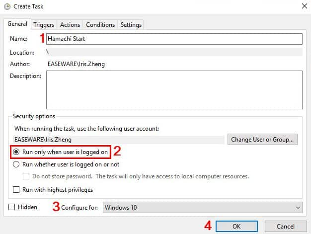 Create a Startup for Automatically Restarting the LogMeIn Hamachi Service