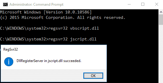"Use Command Prompt to fix ""Windows Media Player Server Execution Failed"" error"
