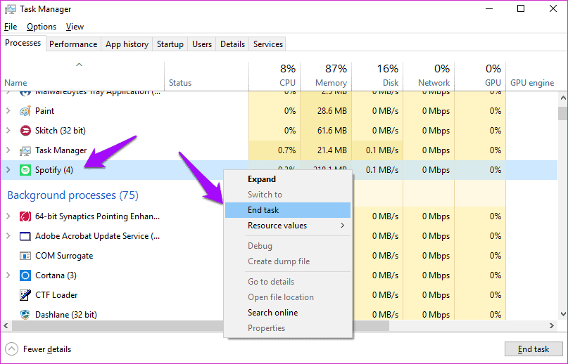 Delete the entry of registry
