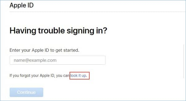 Employ the Apple Website for Recovering your Apple ID