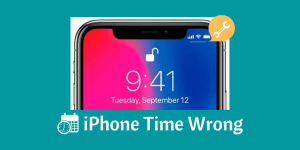 iPhone Time Wrong