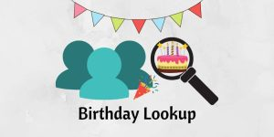 Birthday Lookup