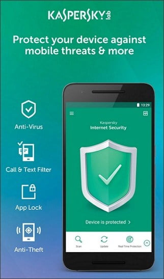 How to stop mSpy from spying you by Kaspersky Mobile Antivirus